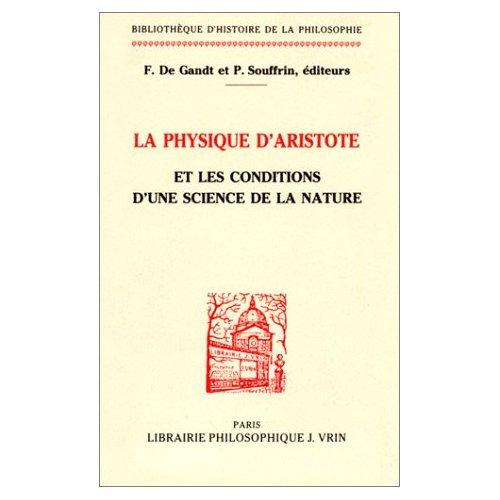 LA PHYSIQUE D'ARISTOTE