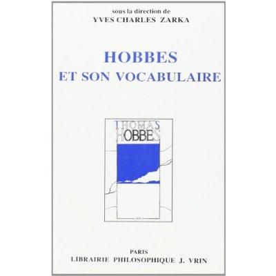 HOBBES ET SON VOCABULAIRE