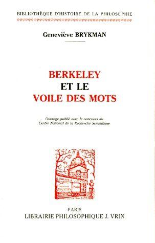 BERKELEY ET LE VOILE DES MOTS