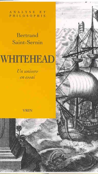 WHITEHEAD UN UNIVERS EN ESSAI