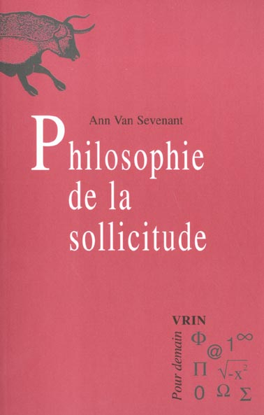 PHILOSOPHIE DE LA SOLLICITUDE