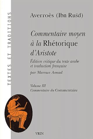 COMMENTAIRE MOYEN A LA RHETORIQUE D'ARISTOTE