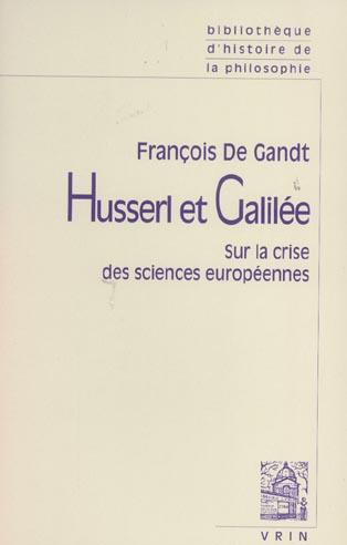 HUSSERL ET GALILEE