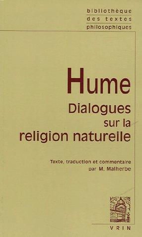 DIALOGUES SUR LA RELIGION NATURELLE EDITION BILINGUE