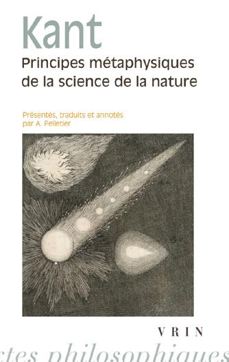 PRINCIPES METAPHYSIQUES DE LA SCIENCE DE LA NATURE