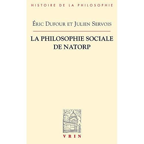 LA PHILOSOPHIE SOCIALE DE NATORP
