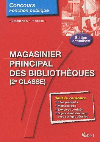 N.57 MAGASINIER PRINCIPAL DES BIBLIOTHEQUES 7E EDT