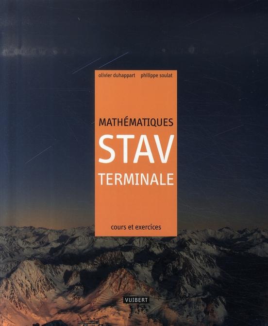 MATHEMATIQUES TERMINALE STAV 3EME ED