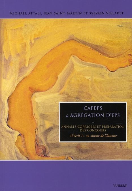 CAPEPS ET AGREGATION D E.P.S.