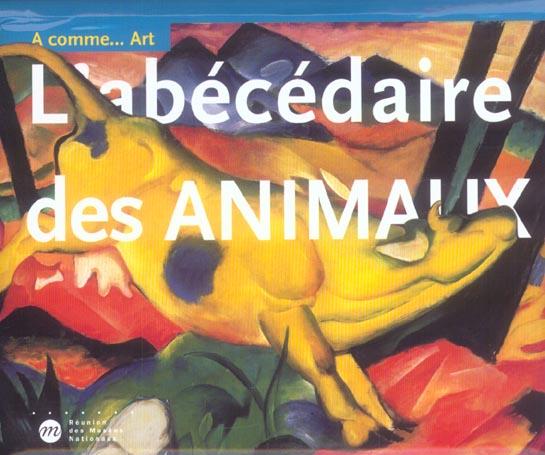 L ABECEDAIRE DES ANIMAUX - A...... COMME ART