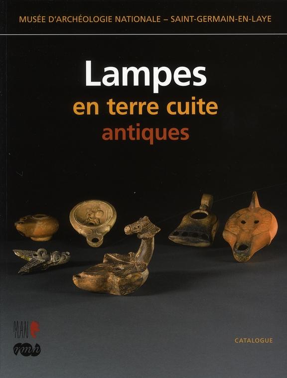 LAMPES EN TERRE CUITE ANTIQUES - MUSEE D'ARCHEOLOGIE NATIONALE - SAINT-GERMAIN-EN-LAYE