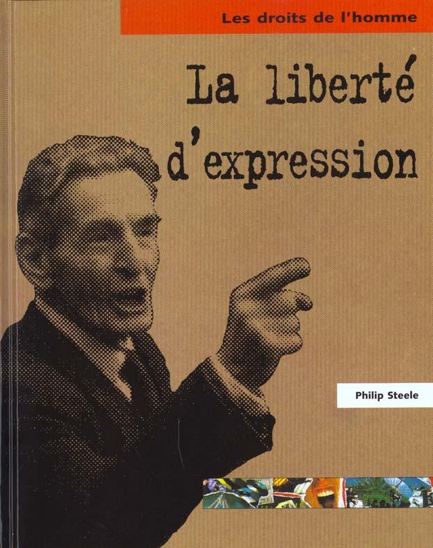 LA LIBERTE D'EXPRESSION