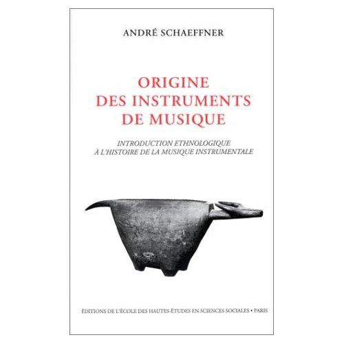 ORIGINE DES INSTRUMENTS DE MUSIQUE INTRODUCTION ETHNOLOGIQUE A L'HISTOIRE DE LA