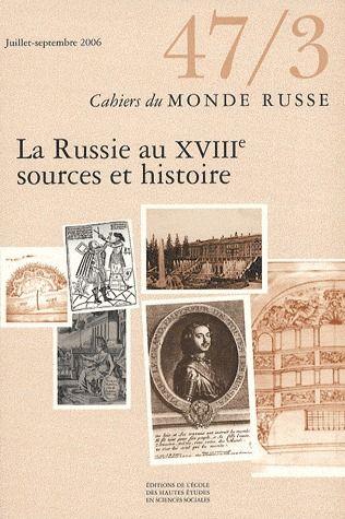 CAHIERS DU MONDE RUSSE 47/3