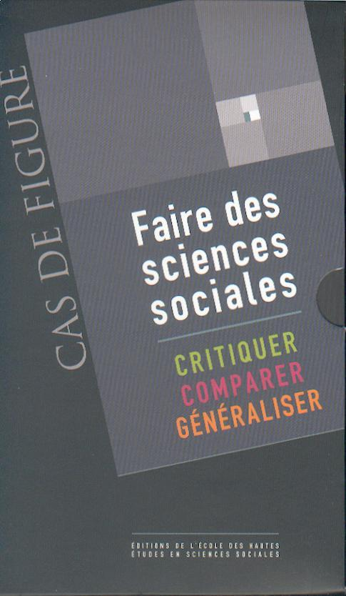 COFFRET FAIRE DES SCIENCES SOCIALES 3 VOLUMES