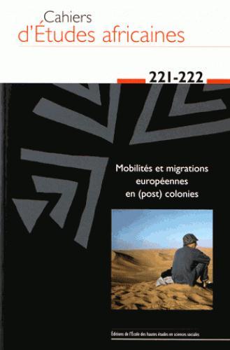 CAHIERS D ETUDES AFRICAINES 221 222
