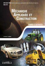 MECANIQUE APPLIQUEE ET CONSTRUCTION