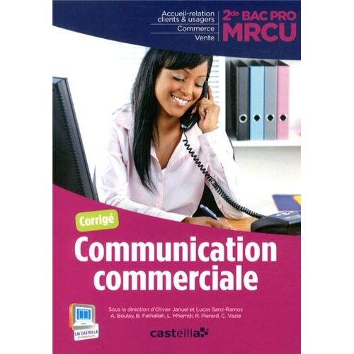 MRCU COMMUNICATION COMMERCIALE 2E CORRIGES