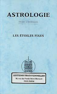 ASTROLOGIE : LES ETOILES FIXES - FAC SIMILE DU N 4, 1936 DE LA REVUE ASTROLOGIE
