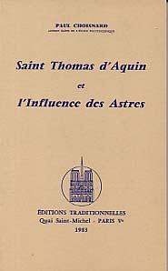SAINT THOMAS D'AQUIN ET L'INFLUENCE DES ASTRES