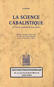 SCIENCE CABALISTIQUE (LA)