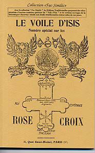 VOILE D'ISIS (LE), AOUT-SEPTEMBRE 1927 :