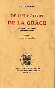 DE L'ELECTION DE LA GRACE