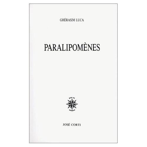 PARALIPOMENES
