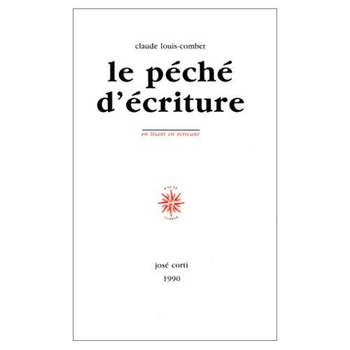 LE PECHE D'ECRITURE