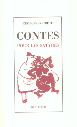 CONTES POUR LES SATYRES
