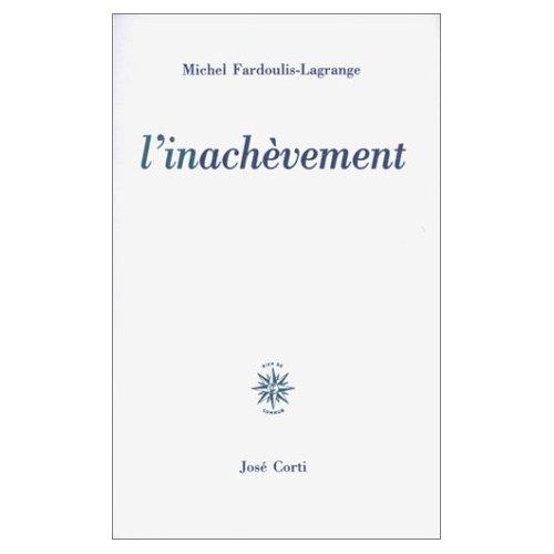 L'INACHEVEMENT