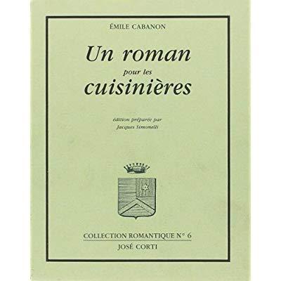 UN ROMAN POUR LES CUISINIERES