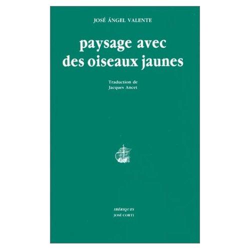 PAYSAGE AVEC DES OISEAUX JAUNES
