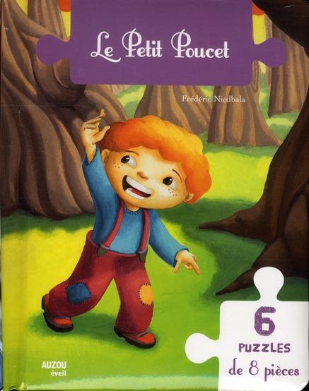 LE PETIT POUCET 6 PUZZLES DE 8 PIECES