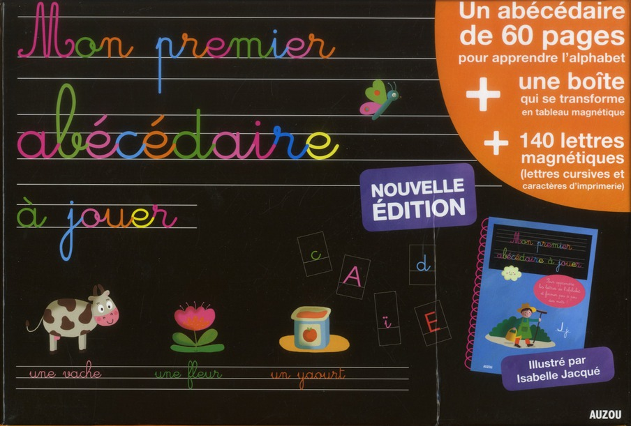 MON PREMIER ABECEDAIRE A JOUER EDITION 2012