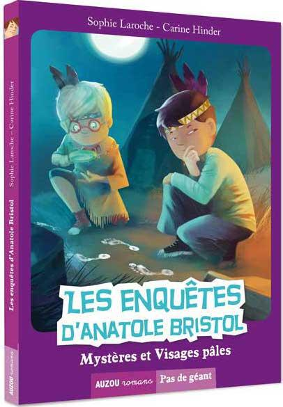 LES ENQUETES D'ANATOLE BRISTOL TOME 2 - MYSTERES ET VISAGES PALES (COLL. PAS DE