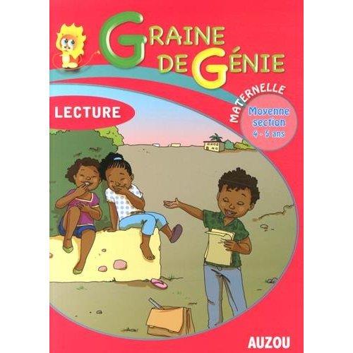 GRAINE DE GENIE LECTURE MATERNELLE MOYENNE SECTION 4-5 ANS