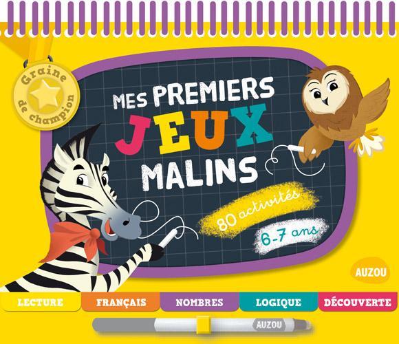 MES PREMIERS JEUX MALINS 6-7 ANS (COLL. GRAINE DE CHAMPION)
