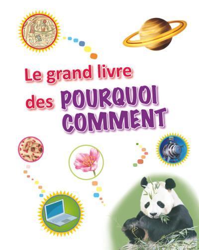 LE GRAND LIVRE DES POURQUOI COMMENT (NOUVELLEEDITION)