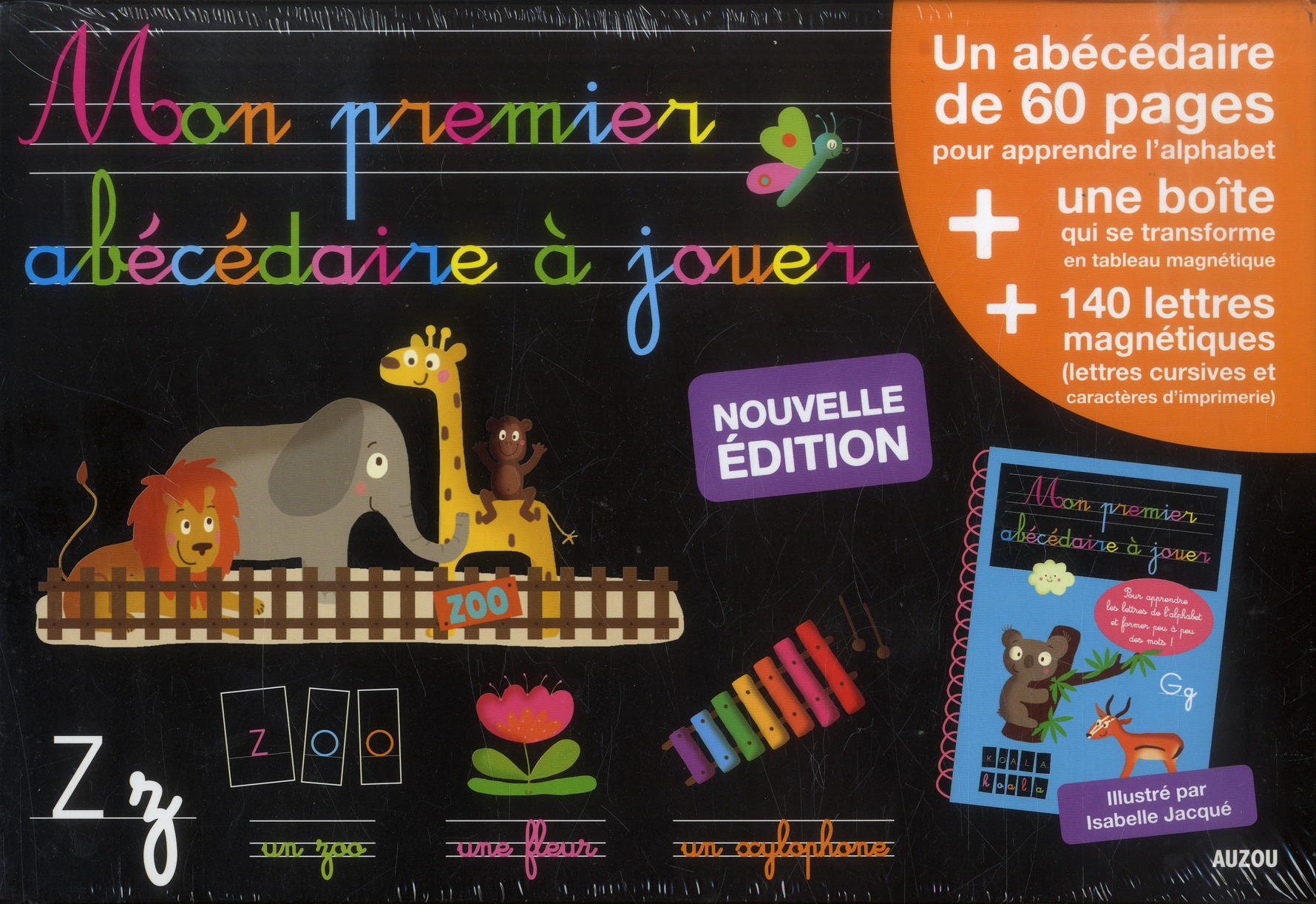 MON PREMIER ABECEDAIRE A JOUER (EDITION 2013)