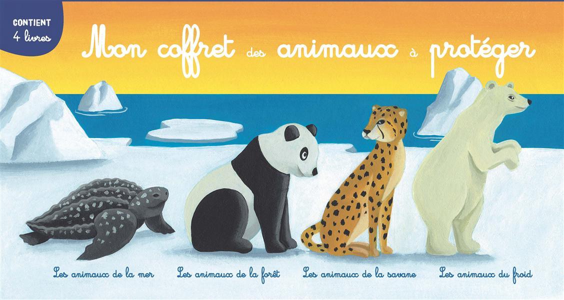 COFFRET DES ANIMAUX - LES ANIMAUX A PROTEGER