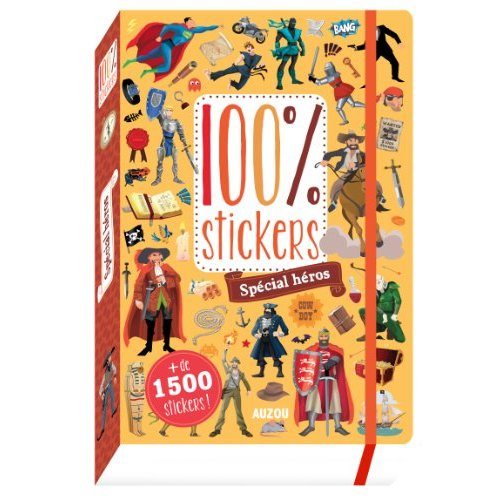 100 STICKERS - SPECIAL HEROS