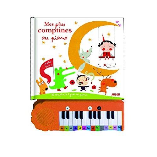 MES JOLIES COMPTINES AU PIANO (NOUVELLE EDITION)