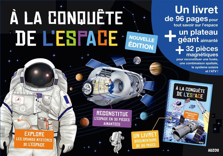 A LA CONQUETE DE L'ESPACE (COLL. MA PREMIERE BOITE A JOUER) - EDITION 2014