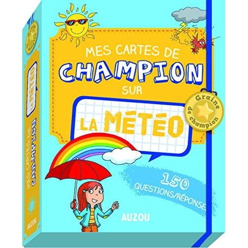 MES CARTES DE CHAMPION SUR LA METEO