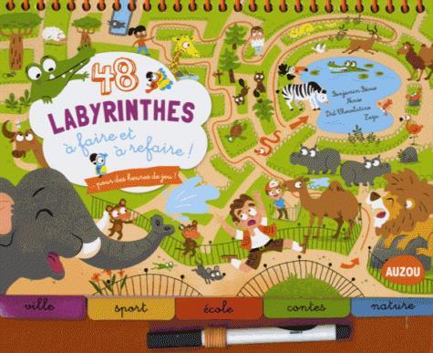 48 LABYRINTHES A FAIRE ET A REFAIRE (COLL. BLOC-NOTES)