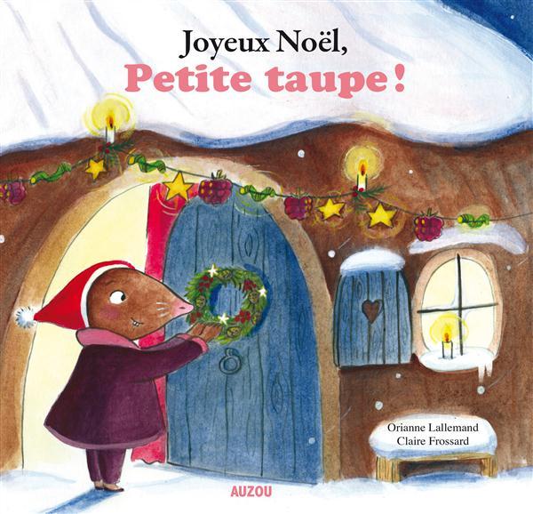 JOYEUX NOEL, PETITE TAUPE (GRAND FORMAT)