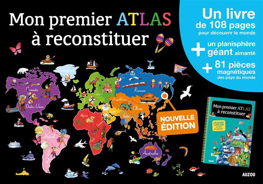 MON PREMIER ATLAS A RECONSTITUER - EDITION 2015 (COLL. MES PREMIERS COFFRETS D'A