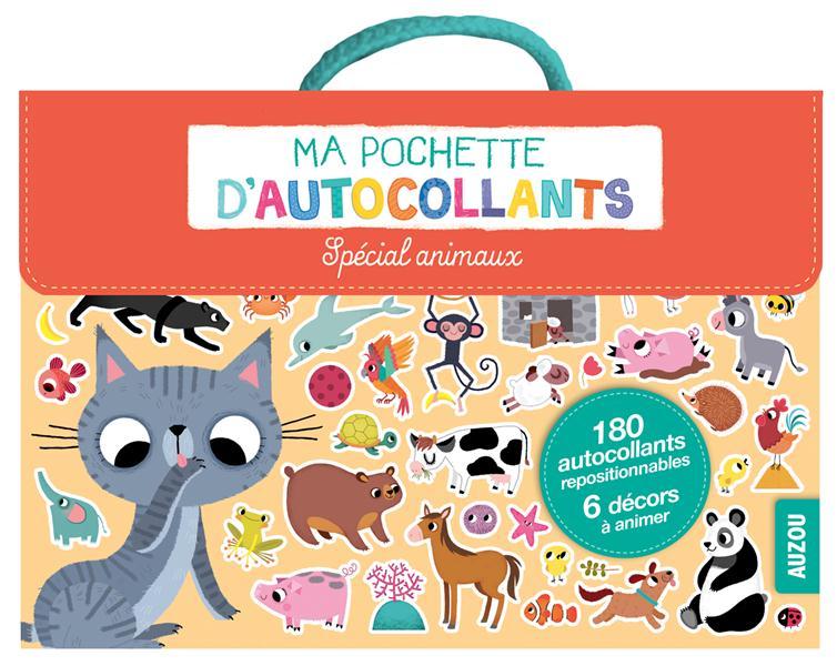 MA POCHETTE D'AUTOCOLLANTS - SPECIAL ANIMAUX (COLL. MA POCHETTE D'ARTISTE)