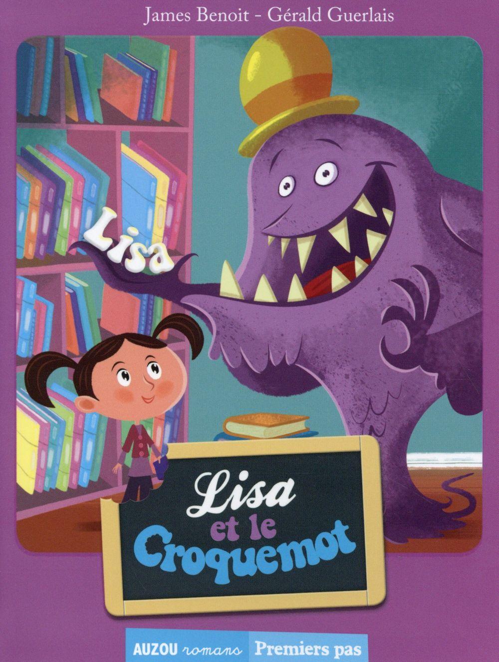 TOME 2 - LISA ET LE CROQUEMOT (COLL. PREMIERS PAS)
